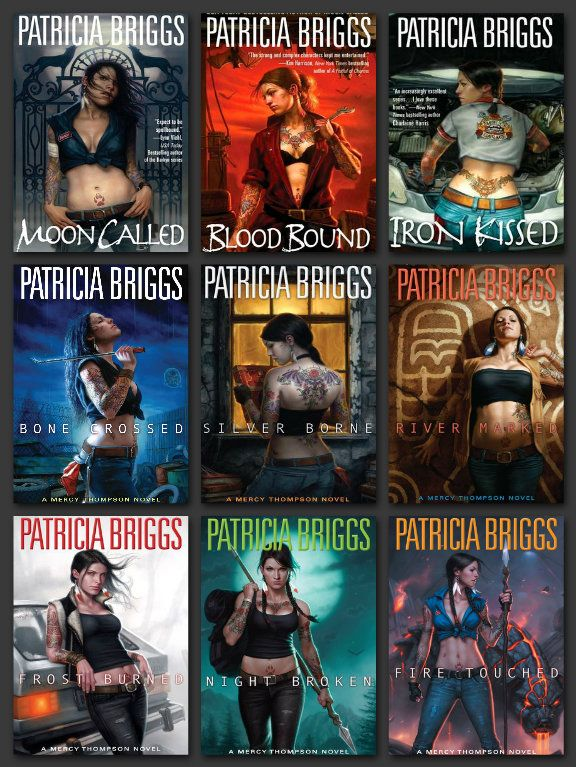 "Toni Says: ""Anything by Patrica Briggs is an auto-buy, and that's true of every nugget, every whisp of a short story.""  Mercy Thompson by Patricia Briggs - Books 1 to 9"