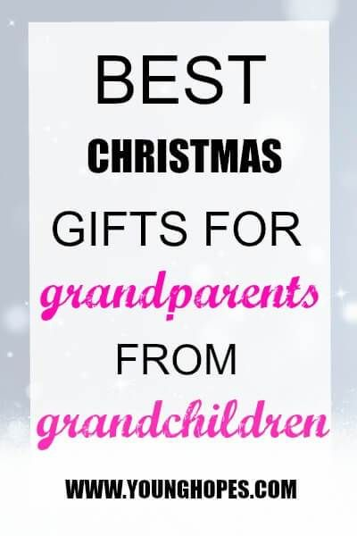 Best Christmas Gifts for Grand Parents from Grandchildren \u2022 ¶ Gift