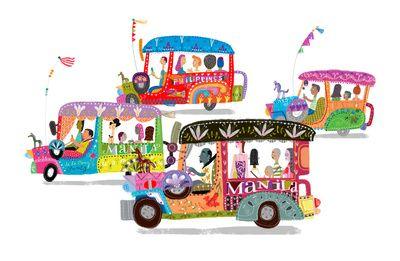 philippines jeepney print