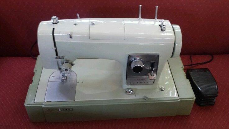 Sears Kenmore Sewing Machine 158 16510 Vintage Green Case