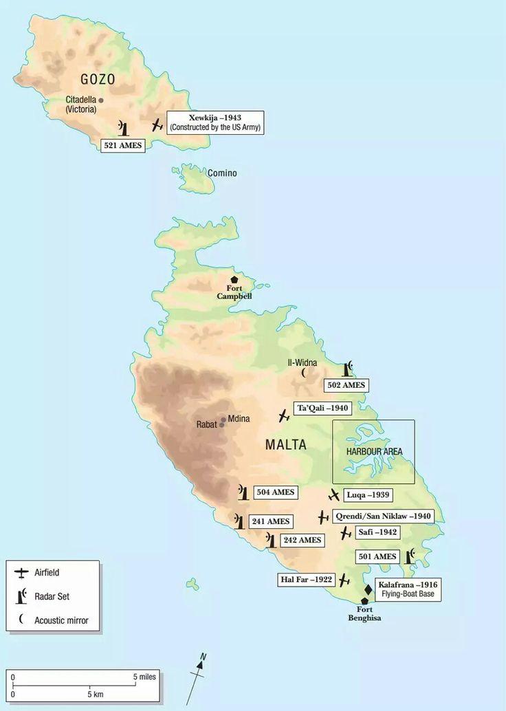 Melhores Ideias De Malta Map No Pinterest Ilha De Malta - Malta map
