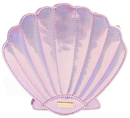 Pink shell cross body bag, £30.00 Skinny Dip skinnydiplondon.com