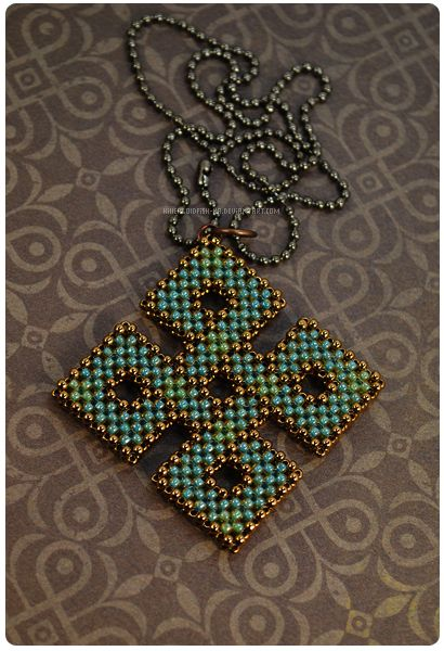 3d beading. Celtic knot by ~KillerGoldFish-ka on deviantART