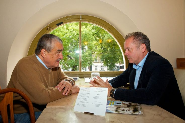 KDO TO BYL: Kníže Karel a Andrej Kiska Přátelé inteligence a p...