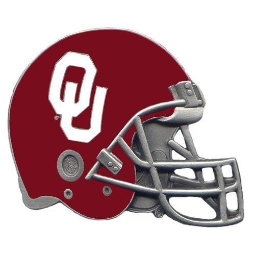 Oklahoma Sooners Helmet Hitch Cover Class 3 by Siskiyou. Oklahoma Sooners Helmet Hitch Cover Class 3.