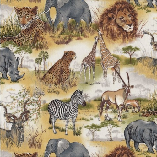 8 Best Animals Quilting Fabric Images On Pinterest