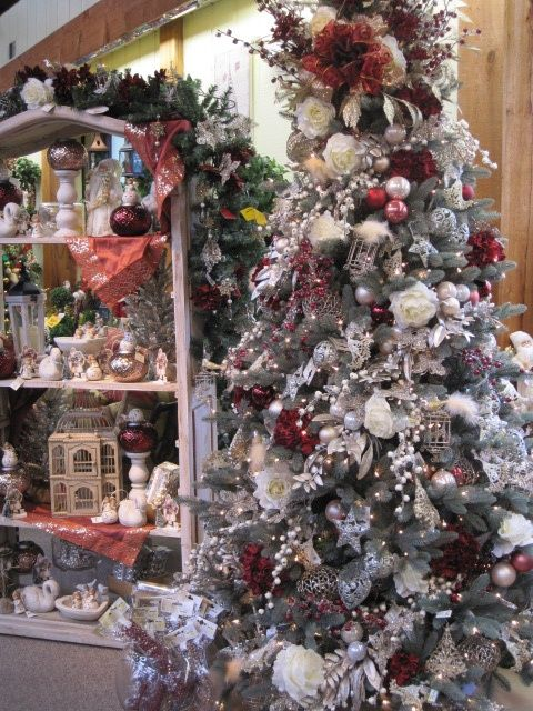 Christmas Tree decorations From the Holiday Romance Theme at Your Christmas Shop at Stauffers of Kissel