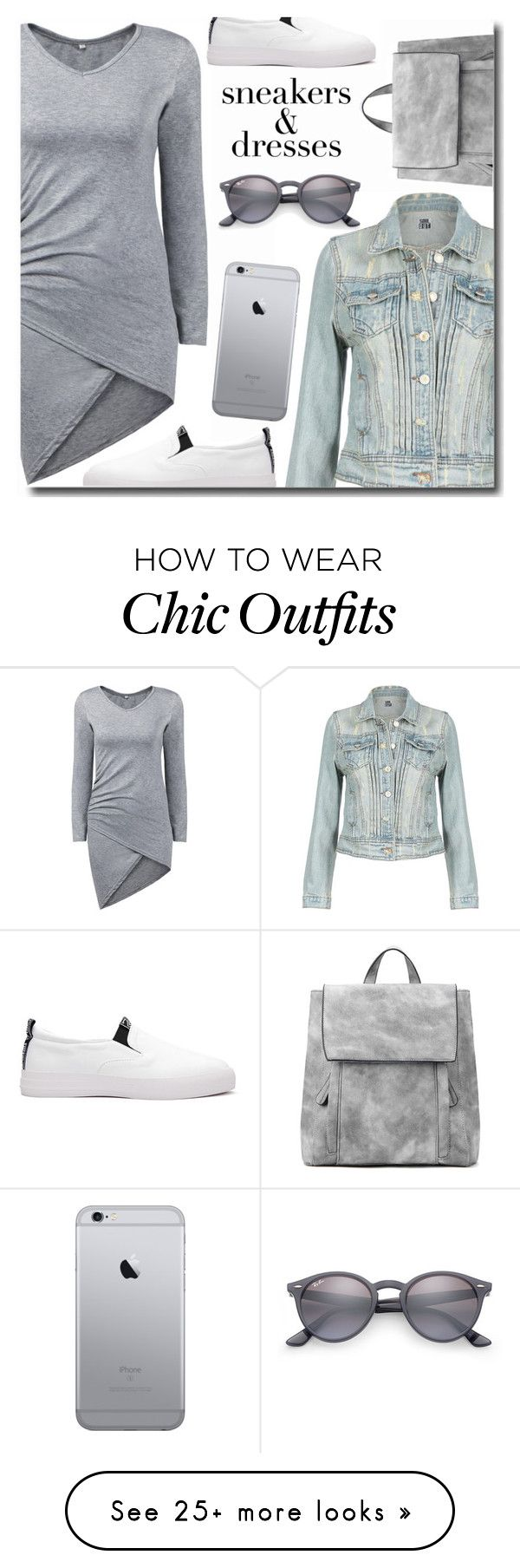 """Sporty Chic: Sneakers and Dresses"" by polivorka-polivorochka on Polyvore featuring Ray-Ban, yoins, yoinscollection, loveyoins and SNEAKERSANDDRESSES"