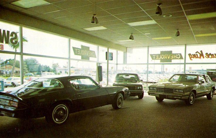 1981 Bruce King Chevrolet Dealership Showroom, Lake Park