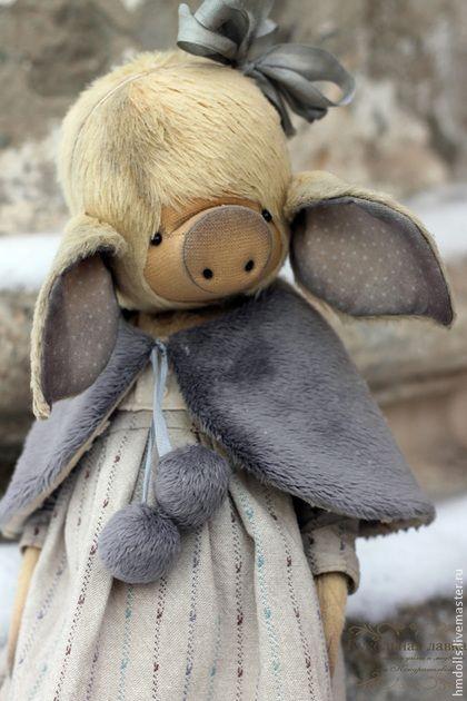 Мишки Тедди ручной работы. Ярмарка Мастеров - ручная работа Мимоза. Handmade.