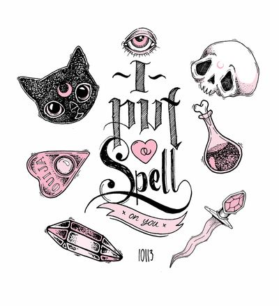 ✭ I Put a Spell on You ✭ Art Print