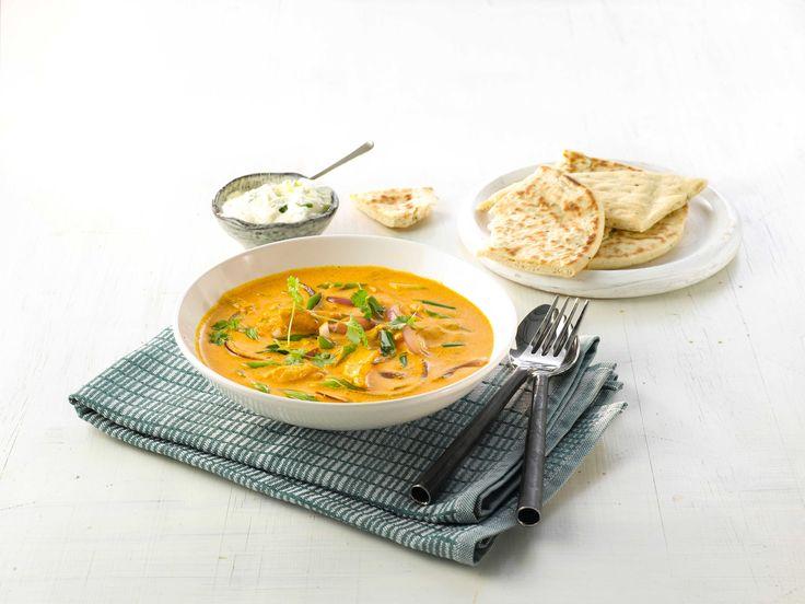 En herlig oppskrift på en rett som tar deg rett til India. Smekkfull av gode smaker som ingefær, hvitløk og koriander.