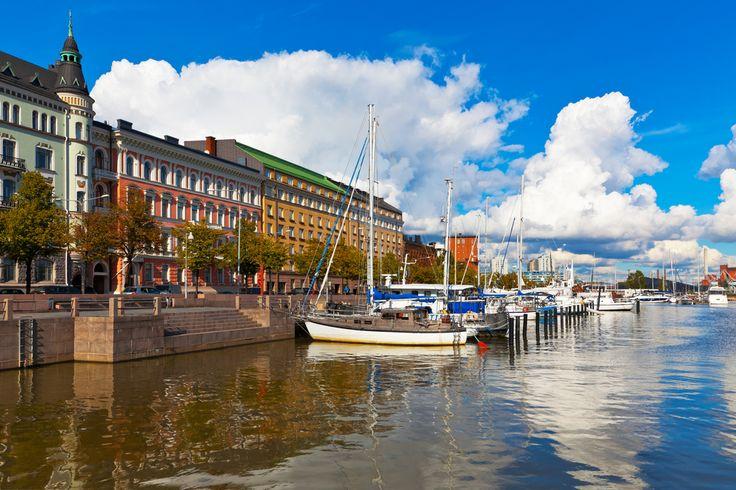 Helsinque, capital da Finlândia.