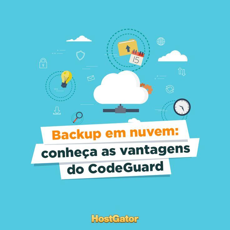 Conheça as principais vantagens do CodeGuard e entenda a importância do backup em nuvem ☁️ para garantir a segurança do seu site.