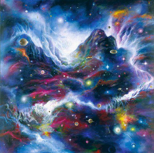 Akiane kramarik painting akiane kramarik pinterest for Creation mural kids