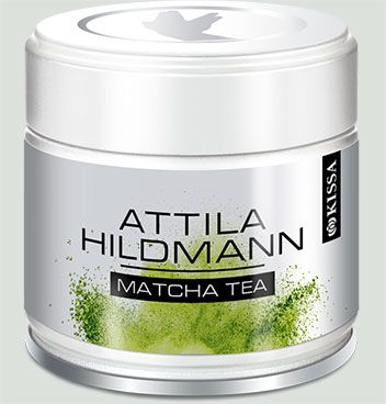 Matcha von Attila Hildmann, 30g Dose