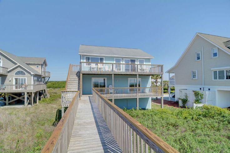Island Drive 3512 | Oceanfront Vacation Rental | N. Topsail Beach NC