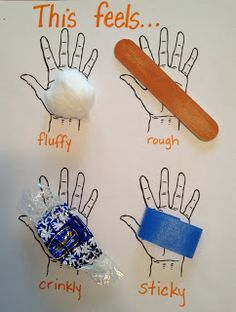 Special Needs Programs   These are some ideas on using objects and hands-on activities while helping ESL learners read. I like the exercise where kids find objects that fit a given descriptive word, which could be a good sensory activity for other special needs kids as well.