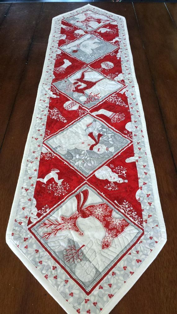 Christmas Table Runner Pattern Free.Table Runner Patterns To Sew Free Table Runner Patterns From