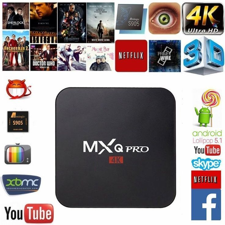 Acent 2017 MXQ Pro Android tv box Android 5.1 Amlogic S905 Quad Core 1gb RAM 8gb Flash Support Wifi 4K Google smarttvplayer
