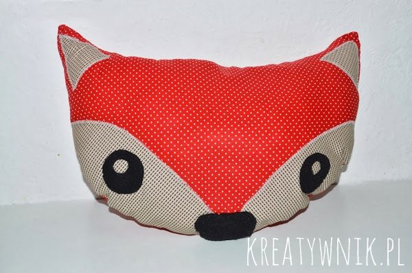 Fox pillow :)
