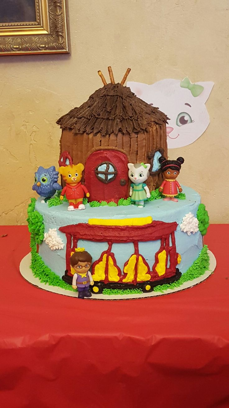 17 Best Ideas About Daniel Tiger Cake On Pinterest