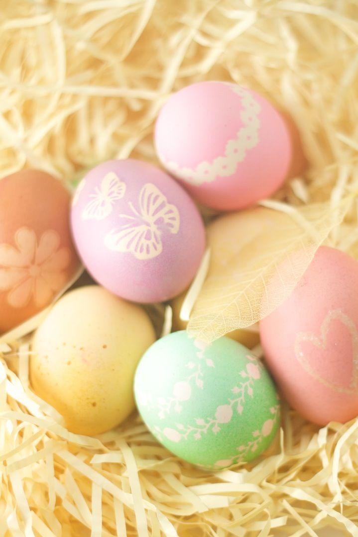 Easter Eggs .