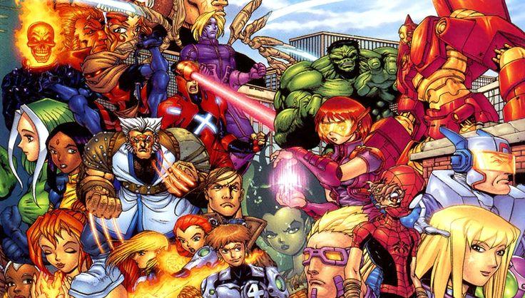 Mangaverse est une stratégie marketing de créée en 2002 par Marvel Comics afin de récupérer un marché perdu au profit de la concurrence asiatique. Manganverse réinvente les superhéros dans des genres traditionnels japonnais.