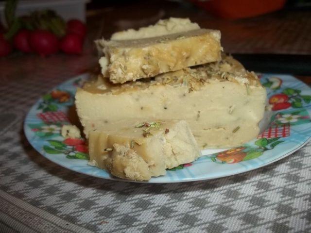 Vegamer. formaggio alla farina di ceci