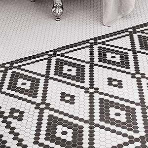 Tile Timeless Versus Trendy Hexagon Tile Bathroom