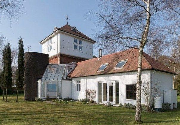 Как старая водонапорная башня была переделана в уютный жилой дом. - Дизайн интерьеров | Идеи вашего дома | Lodgers