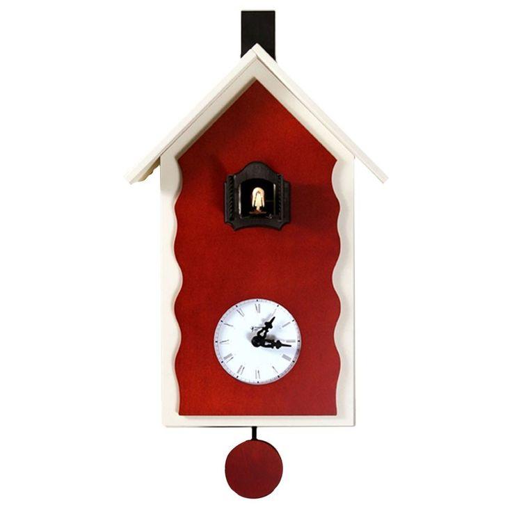 17 migliori idee su orologi in legno su pinterest - Orologi a cucu design ...