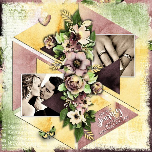 Template Triangle Mania 3 by Miss Mel Templates. Kit You Hold The Key by Jumpstart Designs. Photos from Desktop Nexus.