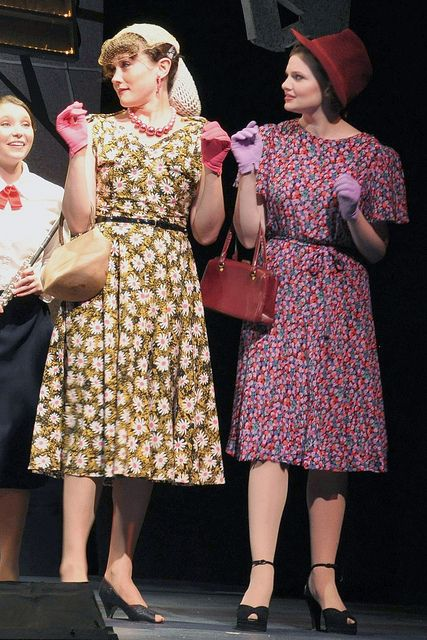 I need clothes like these for my daughter's costume in Guys and Dolls