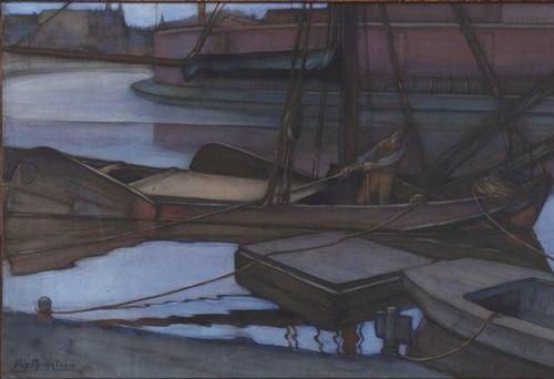 Piet Mondrian, Going Fishing, 1900