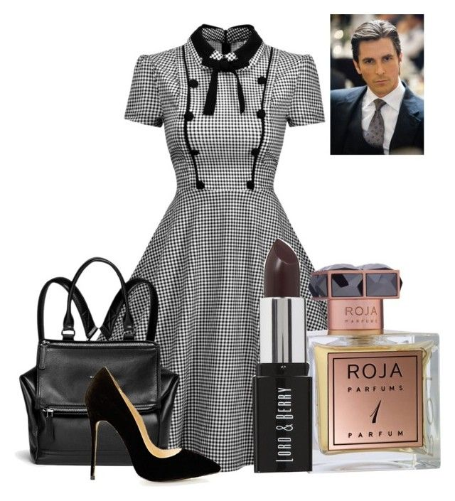 """Meeting With Bruce Wayne"" by women-of-justice ❤ liked on Polyvore featuring Roja Parfums, Givenchy and Lord & Berry"