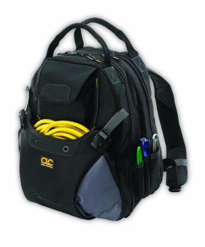 Custom Leathercraft 1134 Tool Backpack, 48-Pocket - $48.40
