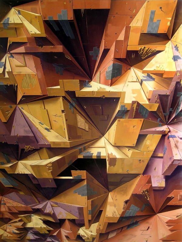 Brian Cooper's Trompe L'oeil Paintings