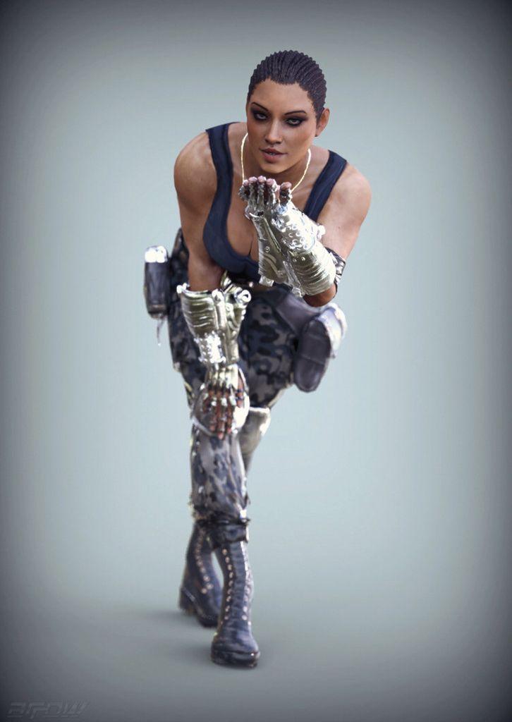 Mortal Kombat X - Cassie Cage vs Kitana by Narga