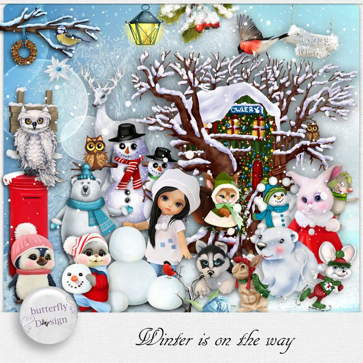 Digital Art :: Kits :: Winter is on the way [Page kit] by butterflyDsign
