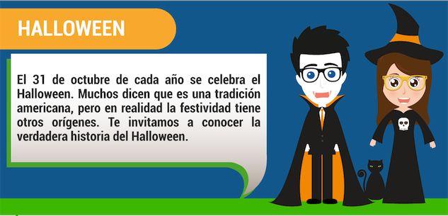 El Halloween empezó hace miles de años en una antigua civilización. Conoce el verdadero origen de la Noche de Brujas en este infographic.