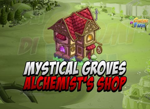 Mystical Groves: Alchemist's Shop (Crafting Cottage)