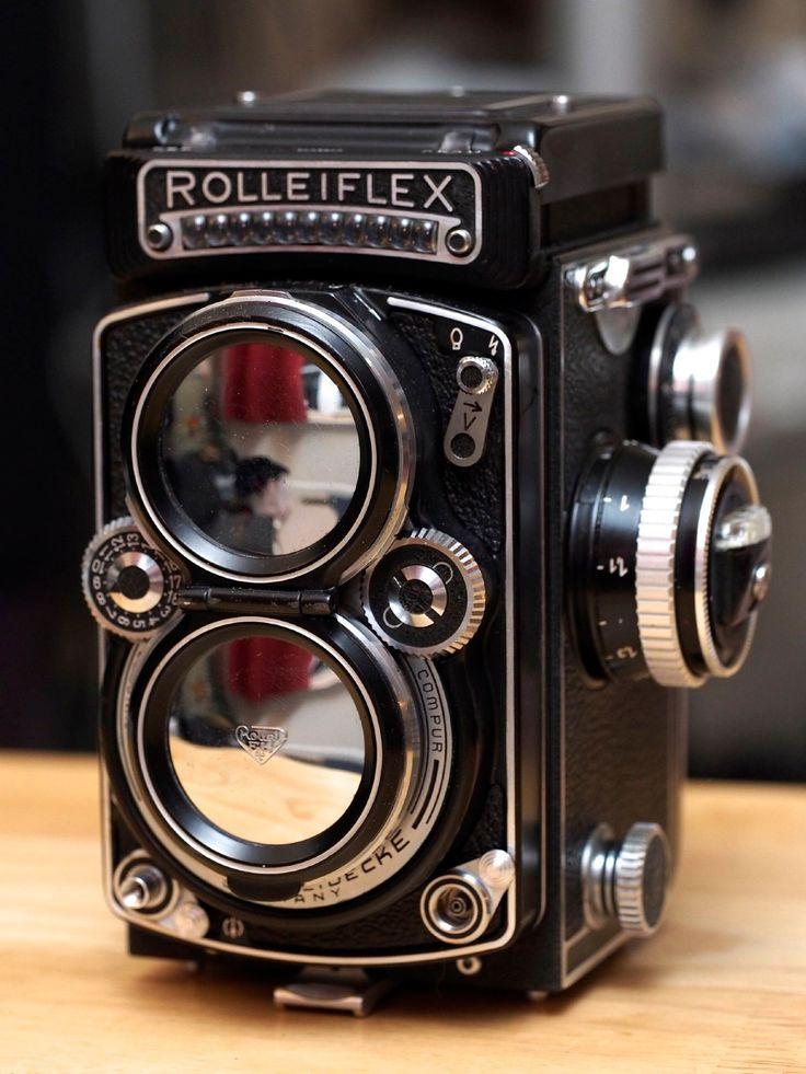 Rollei Rolleiflex 2 8E TLR Medium Format Film Camera