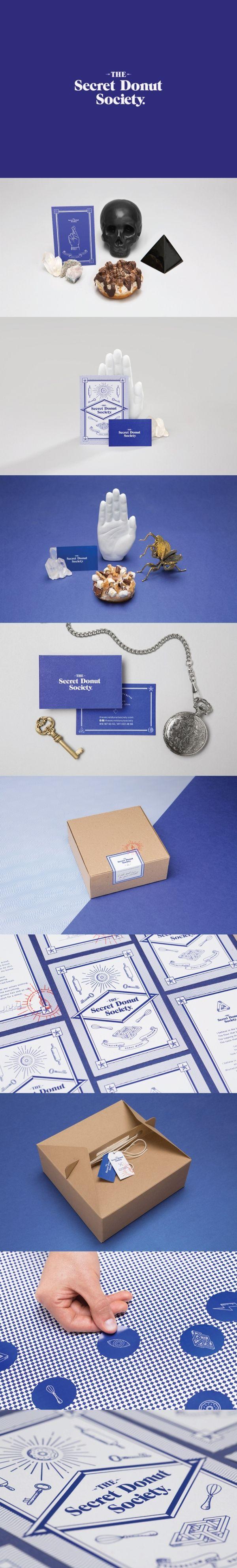 The Secret Donut Society. Let's keep the secret alive. #branding #identity #design