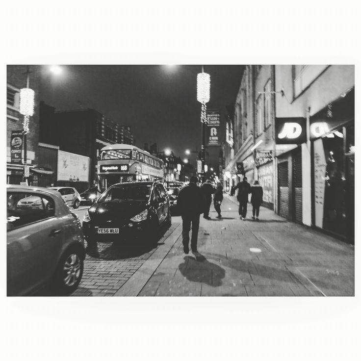 Late night walking #camdentown #latenight #photography