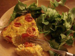 IG bas et gourmand en cuisine! DIAB & BON & GOURMAND !: PLAT UNIQUE fritata légumes