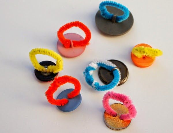 Button rings.                               Gloucestershire Resource Centre http://www.grcltd.org/scrapstore/