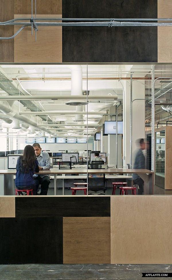Square Inc. Office Interior // O + A | Afflante.com