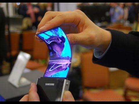 es un celular flexible,es uno de los ultimos celulares que han salido