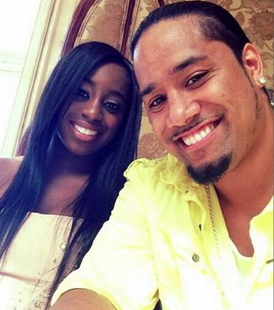 A WWE ENGAGEMENT! - Trinity (aka Naomi Knight) and Jimmy Uso (Both are WWE wrestlers)